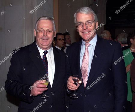 Terry Major-ball with His Brother John Major