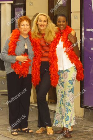 Pam Ferris Jerry Hall and Josette Simon