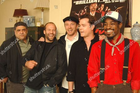 Photocall with the Cast of 'Revolver' at the Dorchester Hotel Vincent Pastore Jason Statham Director Guy Ritchie Ray Liotta & Andre Benjamin