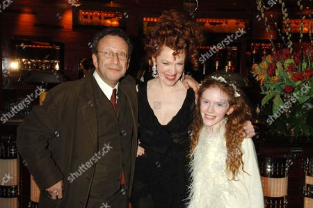 Premiere Afterparty For 'The White Countess' at China Tang the Dorchester Hotel Alan Corduner with Madeleine Daly and Her Mother Madeleine Potter