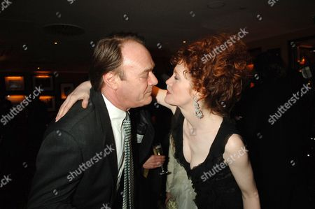 Premiere Afterparty For 'The White Countess' at China Tang the Dorchester Hotel Christopher Cazenove with Madeleine Potter