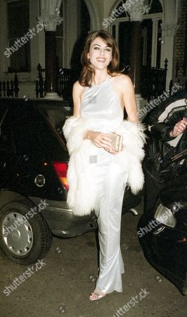 Stock Picture of Premiere For 'Extreme Measures' Elizabeth Hurley