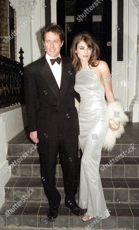 Stock Image of Premiere For 'Extreme Measures' Hugh Grant and Elizabeth Hurley