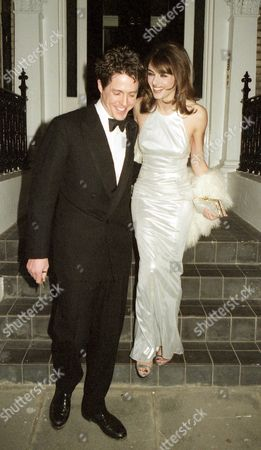 Stock Photo of Premiere For 'Extreme Measures' Elizabeth Hurley and Hugh Grant