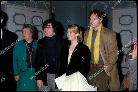 Premiere of 'Duet For One' Alan Bates Cathryn Harrison and Liam Neeson