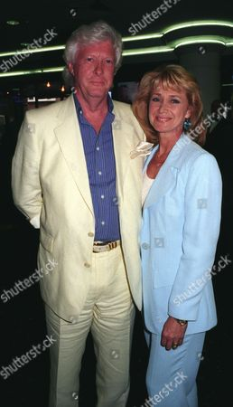 Premiere of 'Girls Night' Jan Leeming with Her Husband Christopher Russell