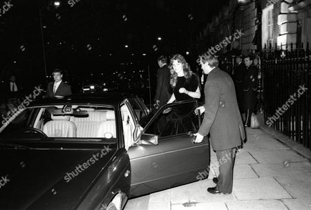 Editorial photo of Prince and Princess of Wales Leave Annabel's Nightclub, Mayfair - 17 Nov 1987