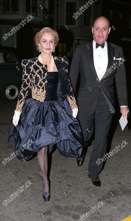 Birthday Party at Spencer House Carolina Herrera with Her Husband Reinaldo Herrera