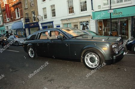 Princess Michael of Kent Went to A Summer Party at Katharine Pooley's Shop in Wilton Street Belgravia London Her Car Parked and Waited For Her All the Time That She Was at the Event HerÊfemale Driver Ignored Parking Spaces Across the Road A Parked On the Pavement OnÊdouble Yellow Lines and Completely Blocking Up the Narrow Very Busy Road