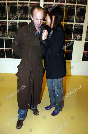 Stock Picture of Private View of 'In-a-gadda-da-vida' at the Tate Britain Johnny Shand-kydd and Janet Street-porter