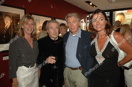 Private View of Photography Exhibition 'Shutterbug' at Scream Gallery Bruton Street Laraine Ashton with Her Husband Terry O'neill and Don Mccullin and His Wife Katharine Fairweather