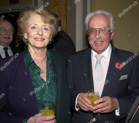 Book Party at the Beaufort Room the Savoy Lord and Lady Brian Rix