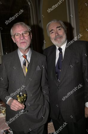 Book Party at the Beaufort Room the Savoy Alan Simpson and Ray Galton
