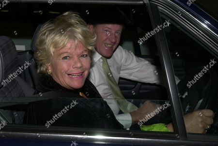 Book Party at the Beaufort Room the Savoy Richard Durden-smith with His Wife Judith Chalmers