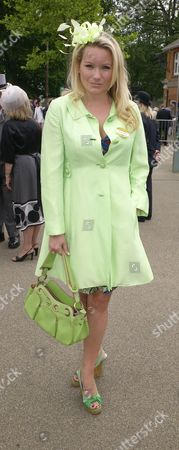 Stock Photo of Royal Ascot 2009 Wednesday Georgea Blakey