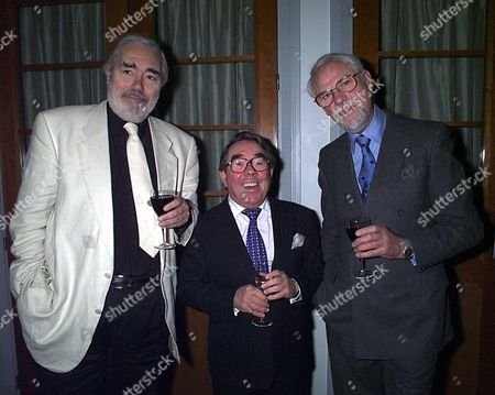 Royal Television Soc Hall of Fame Ray Galton and Alan Simpson with Ronnie Corbett(centre)