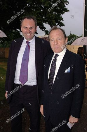 The Serpentine Gallery Summer Party at the Serpentine Gallery in Kensington Gardens William Cash & Anthony Haden-guest