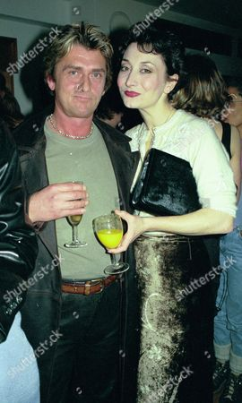 Shi-wa in Aid of Tibetan Peace Garden Appeal at Shakespeare's Globe Theatre Pix Shows Mike Oldfield with Girlfriend Thaea Rolph at the After Show Party