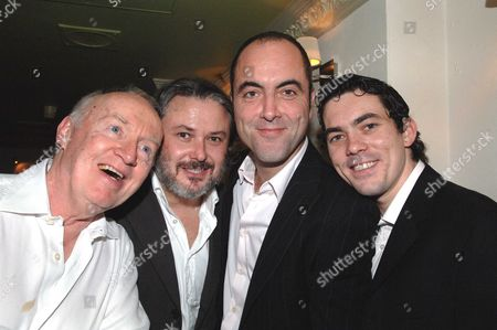 1st Night Party of Shoot the Crow at Walkers of Whitehall Jim Norton; Conleth Hill; James Nesbitt; Packy Lee