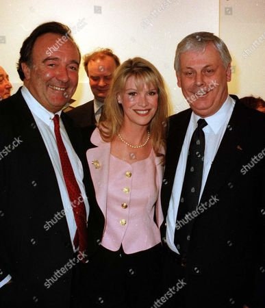Stock Picture of Dai Llewellyn with Cindy Jackson and Terry Major-ball