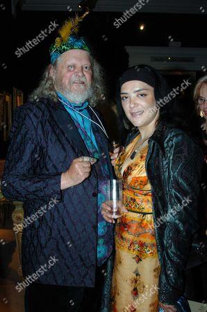 Sothebys Summer Party at Their Auction House in New Bond Street London Lord Bath & Amanda Boyle