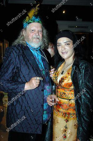 Sothebys Summer Party at Their Auction House in New Bond Street London Lord Bath & Amanda Doyle