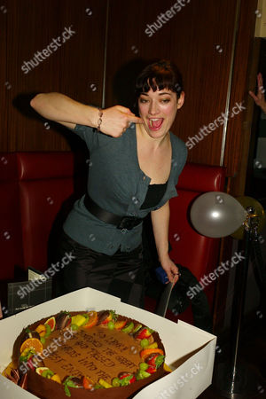 Surprise Party at Verve Upper St Martins Lane For Laura Michelle Kelly Who Comes to the End of Her Run in Lord of the Rings