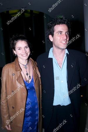 Stock Image of Talk Magazine Host A Pre-bafta Party at the St Martins Lane Hotel Julia Ormond with Her Husband Jon Rubin