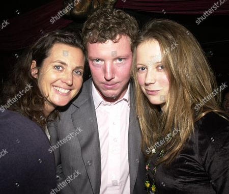 Tatler Little Black Book Party at Stringfellows Nat Rothschild and Katherine Boorman (r)