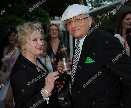Tatler Magazine Summer Party at the Hempel Hotel Bayswater London Celia Birtwell with David Hockney