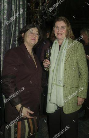 Tatler Restaurant Awards the Ballroom of the Dorchester Hotel Park Lane Fay Maschler & Victoria Mather