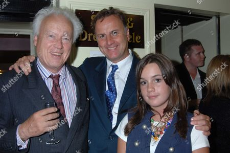 The 10th Anniversary Fundraising Gala For the Jermyn Street Theatre at Criterion Theatre Piccadilly London Lord Moyne His Son Valentine Guinness Who's Play Helping Harry Was One of the Acts in the Show and Granddaughter Tara Gunness