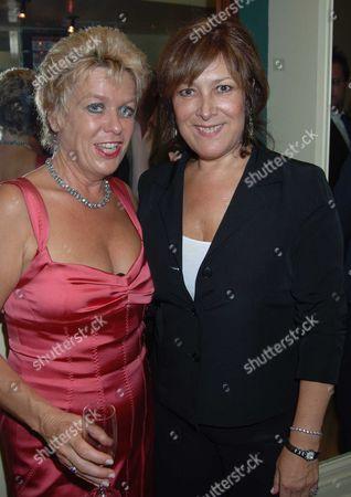the 10th Anniversary Fundraising Gala For the Jermyn Street Theatre at the Criterion Theatre Rosemary Ashe and Lynda Bellingham