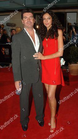 The 2006 British Academy Television Awards (bafta) at the Grosvenor House Hotel Simon Cowell and Teri Seymour