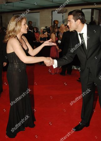 The 2006 British Academy Television Awards (bafta) at the Grosvenor House Hotel Patsy Kensit and Jesse Metcalf