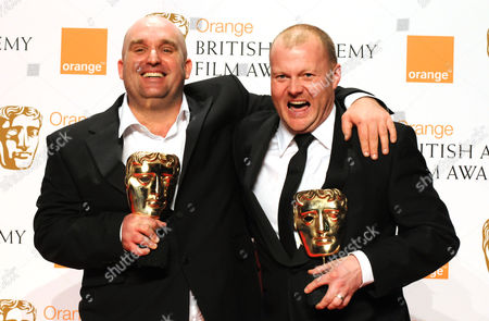 The 2008 British Academy Film Awards Press Room at the Royal Opera House Best British Film 'This is England' Shane Meadows and Mark Herbert