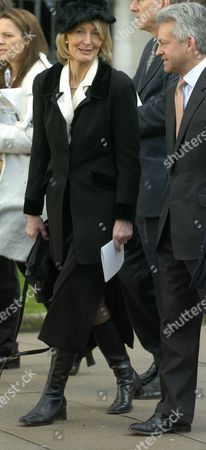 Editorial picture of The Funeral of the Hon. Lady Aitken - 18 Feb 2005