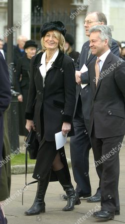 The Funeral of the Hon Lady Aitken at St Margarets Church Westminster Sandra Howard