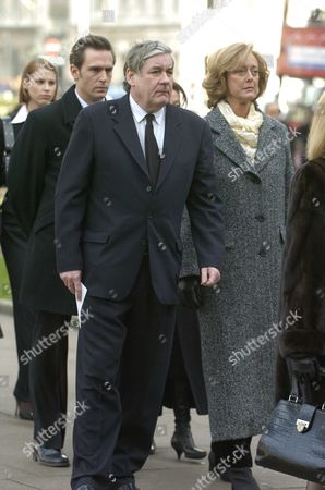 The Funeral of the Hon Lady Aitken at St Margarets Church Westminster Maria Aitken