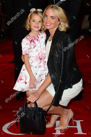 London, England 19th October 2016: Florence Clery with Her Mother at 'the Light Between Oceans' UK Premiere at the Curzon Mayfair in London, England On the 19th October 2016.
