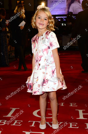 London, England 19th October 2016: Florence Clery at 'the Light Between Oceans' UK Premiere at the Curzon Mayfair in London, England On the 19th October 2016.