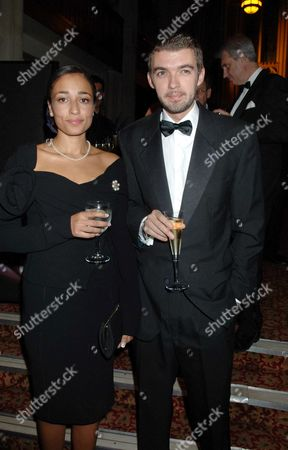 The Man Booker Prize at the Guildhall London Zadie Smith with Her Husband the Poet and Novelist Nick Laird