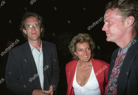 the Rolling Stones 'Steel Wheels Tour' End of Tour Party at the Serpentine Gallery Hyde Park Celestia Fox and Iain Glen