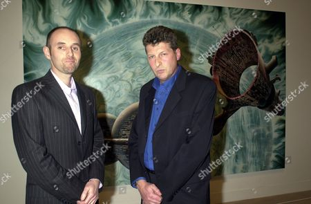 the Turner Prize at the Tate Gallery Glenn Brown and Tony Roberts