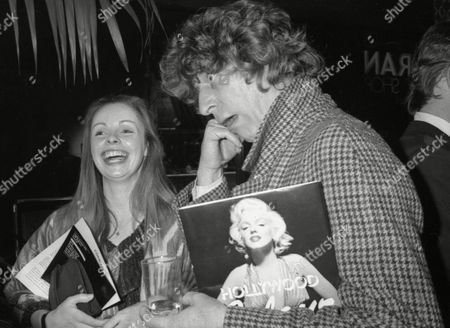 Tom Baker with His Wife Lalla Ward at Conrans