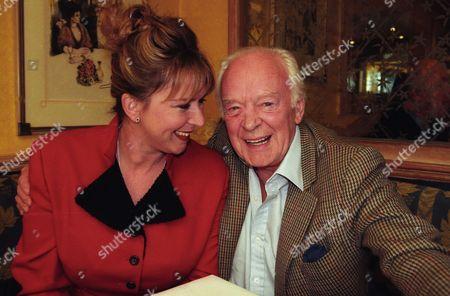 Tony Britton with His Daughter Fern Britton
