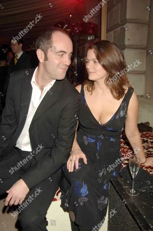 Stock Photo of Uip and Variety Host the London Party Pre-bafta Party in Aid of Lepra at Spencer House St James James Nesbitt with His Wife Sonia Forbes-adam