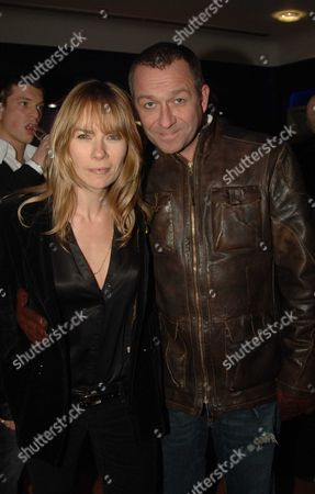 Uk Premiere of 'Kidulthood' at the Odeon West End Sean Pertwee with His Wife Jacqui Hamilton-smith