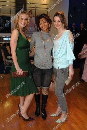 Uk Premiere of 'Kidulthood' at the Odeon West End Rebecca Martin Red Madrell Madelaine Fairley
