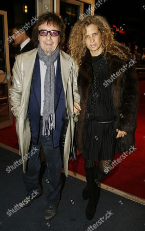 Uk Premiere of 'Sleuth' at the Odeon Westend Bill Wyman and Suzanne Accosta